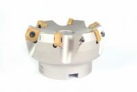 HDNX25°高切深殼型銑刀